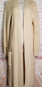 Bobeau | Long Duster Cardigan NWT